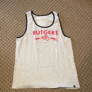 Rutgers Tank Top Size Small